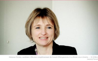 Fabienne Fischer, candidate verte au Conseil d'Etat genevois: «Je sais être à l'écoute et négocier»