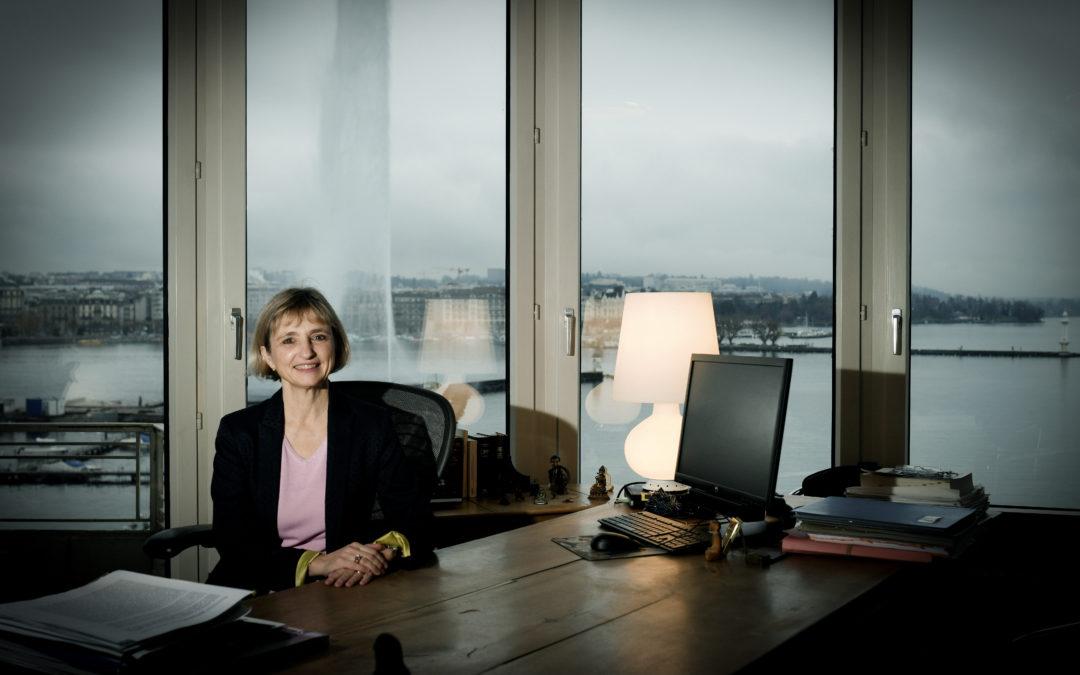 Fabienne Fischer voit la crise comme une occasion de réformes