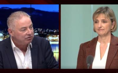 Fabienne Fischer face à Cyril Aellen, Genève à chaud du 10 janvier 2021