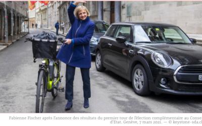 Fabienne Fischer, candidate au Conseil d'Etat: «Un Green New Deal pour Genève»
